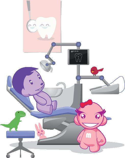 Tratamentul endodontic/ de canal la dintii de lapte